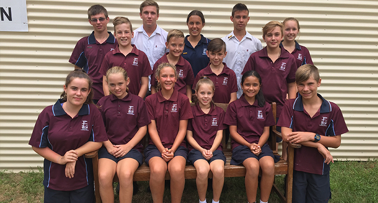 Medowie Christian School Primary and Secondary School Sport Captains and Vice-Captains for 2017.