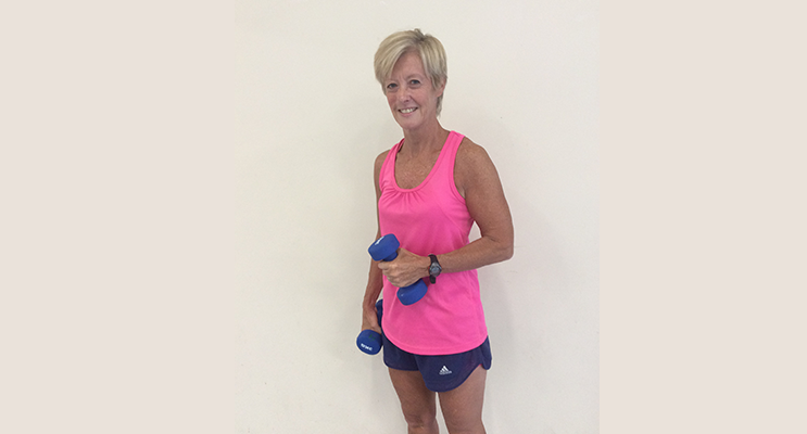 Debbie Freeman from BayFit encourages seniors to embrace the benefits of ongoing exercise