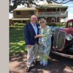 Couple's Love Ageless wed at Fullerton Cove