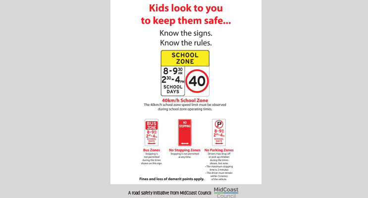 Use this guide to brush up on parking signs near schools and keep our children safe.