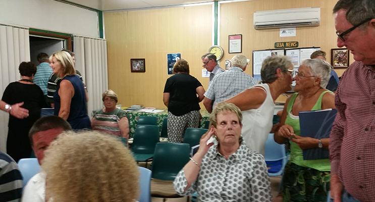 HAWKS NEST: Sheargold Meeting