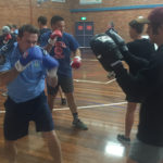 Police share benefits of boxing
