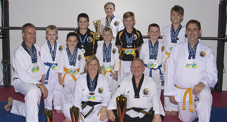 Team Him-Do Tae Kwon Do 2017. Photo by Square Shoe Photography