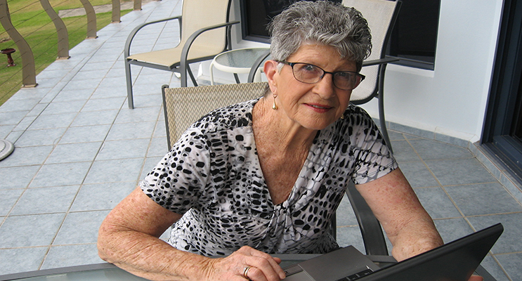 Margaret Sheppard was almost taken in by an online scammer.