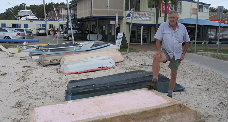 Steve Tucker: Big beach clean up coming soon.