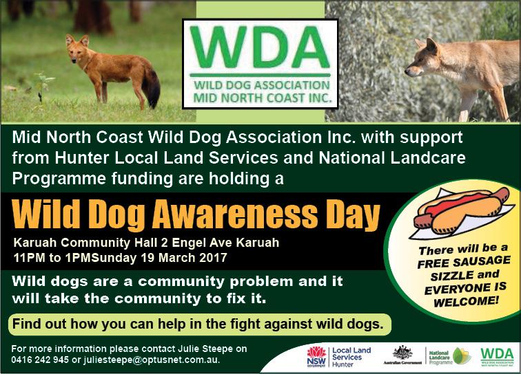 Wild Dog Association - Mid North Coast