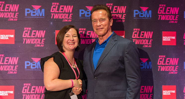 Agent Tiffany Callaghan meets The Terminator.