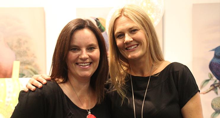 Katrina McKelvey and Kirrili Lonergan.