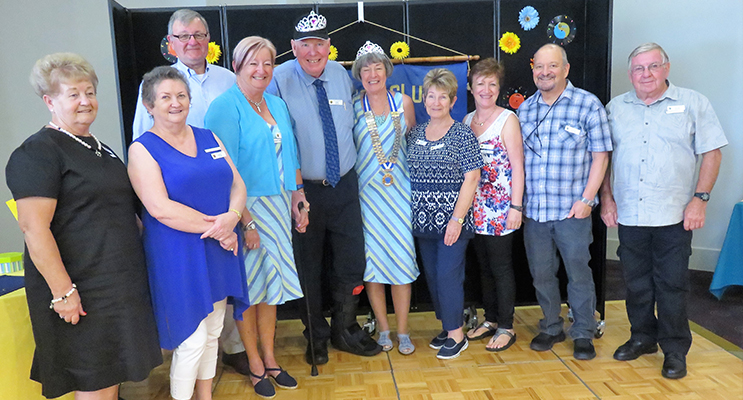 The tireless committee of Probus Port Stephens. Photos supplied