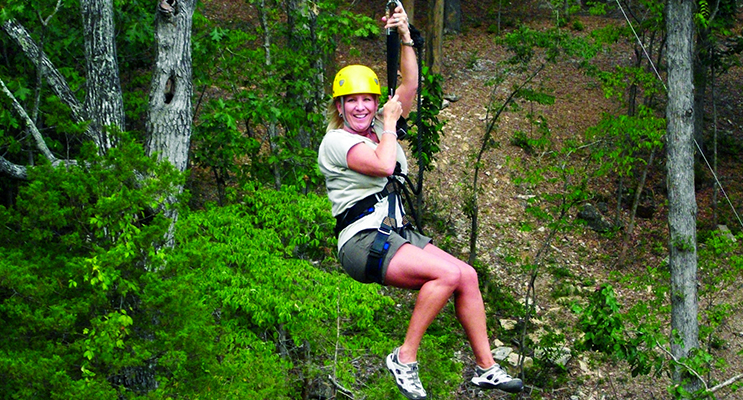 A zipline down the side of the mountain would be a great tourist drawcard for the more adventurous. Photos supplied