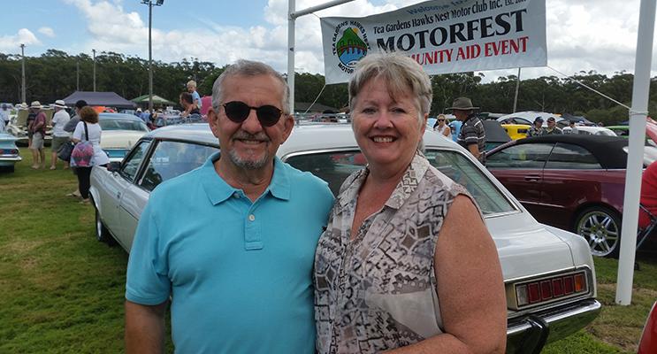 : MOTORFEST VISITORS: Gianfranco and Jacinta Verde