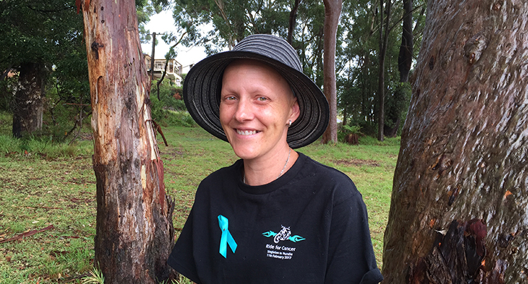 2.Angela Wood wants to spread awareness about the symptoms of ovarian cancer. Photo by Jo Finn