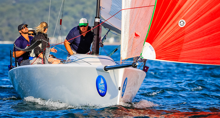 Melges 24 Sportboat. Image supplied by Saltwater Images