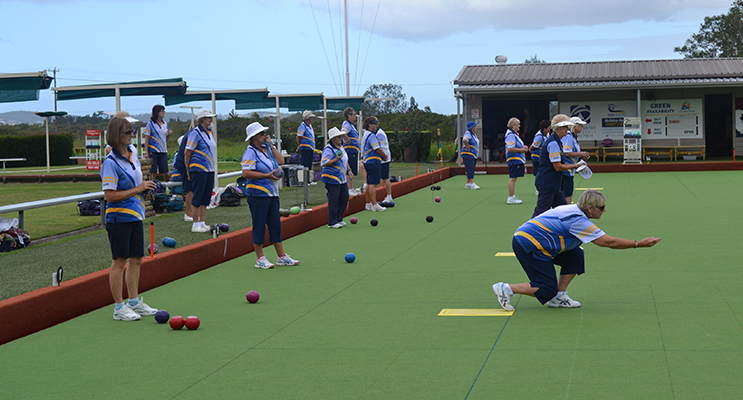 : Seems like a vague memory playing bowls.