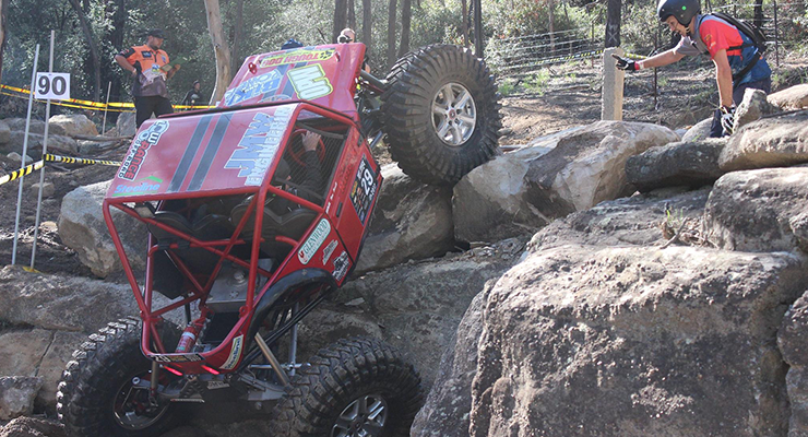 The Redzook team in action at the Tuff Truck Australia challenge.