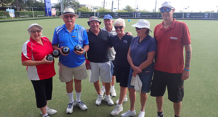 Some of the participants who helped raise $10,000 for Port Stephens suicide prevention and beyondblue. Image supplied