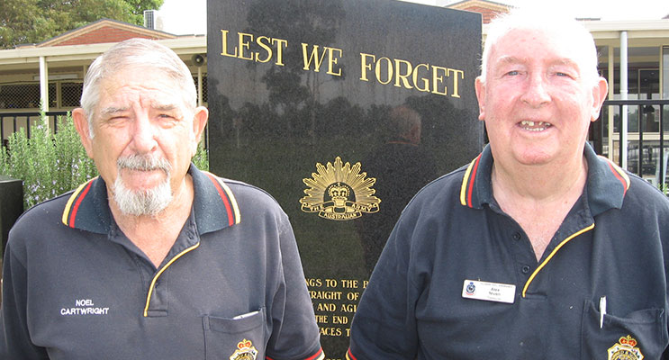 Noel Cartwright and Alex Niven – we need your continued support.