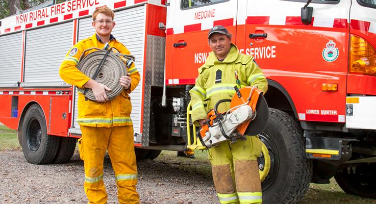 Medowie to commemorate fallen colleagues across fire specialties