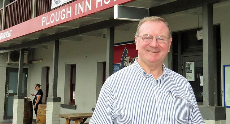 Myall Lakes MP Stephen Bromhead will host 'Pollie In The Pub' at the Plough Inn Hotel at 6pm on Friday 31 March.