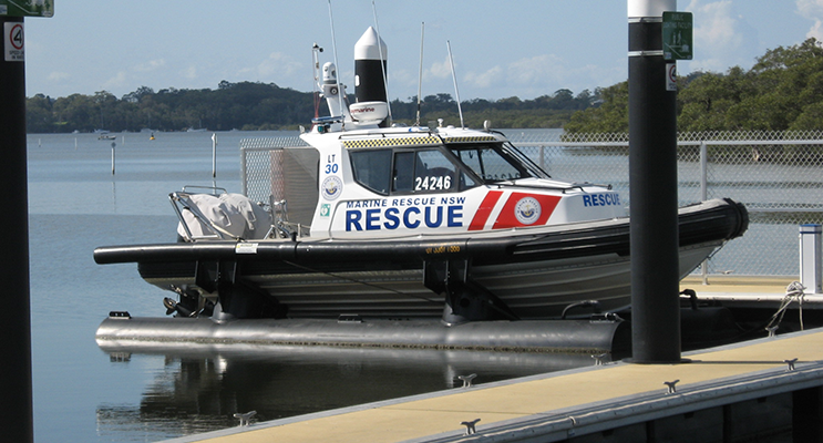 Marine Rescue to have new waterfront base station.