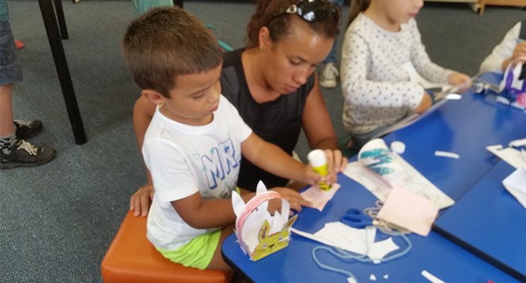 TEA GARDENS LIBRARY: Easter Craft Afternoon.