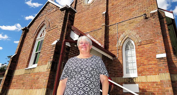 Myall Coast Catholic Parish Pastoral Coordinator, Sister Libbey Byrne.