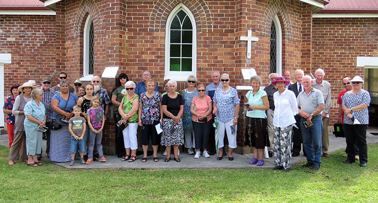 Stations Of The Cross: Myall Coast Congregations unite at St Brigid's Bulahdelah.