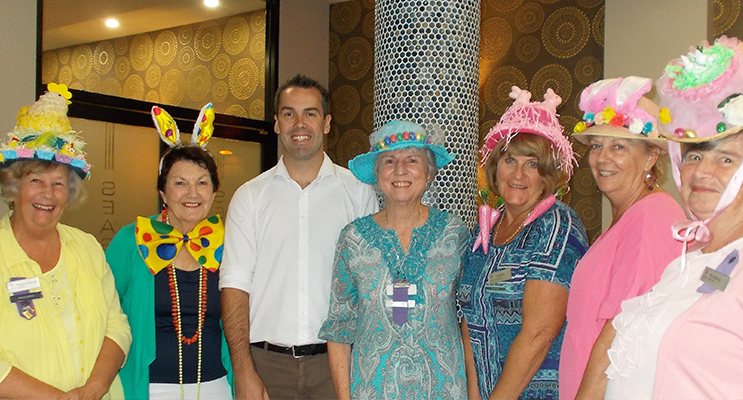 Easter Fun For View Club Nelson Bay