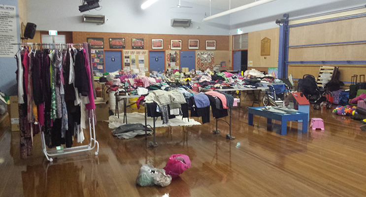 Last year's Garage Sale was a great success with this year's expecting to be even bigger. Photo Supplied.
