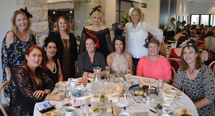 Ladies at High Tea.
