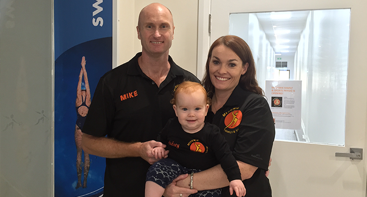 The Paterson family of Medowie Family & Sports Physio.