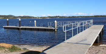 New Tuncurry jetty ready in time for Easter