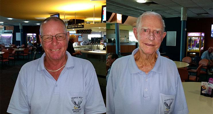 1.Winner of A Grade Bruce Clayton(left)  2.Winner of B Grade Albert Adamson.(right)