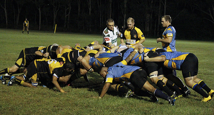 Medowie's low and level scrum was impressive.