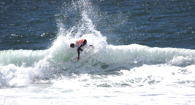 Chris Michalak in action at the South Bay Showdown. Photos courtesy of Seiya