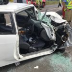 Raymond Terrace Road and Seaham Road interstection crash – lady critical condition