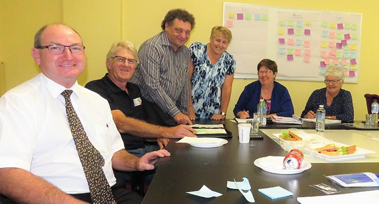 MidCoast Business Chamber team meeting.