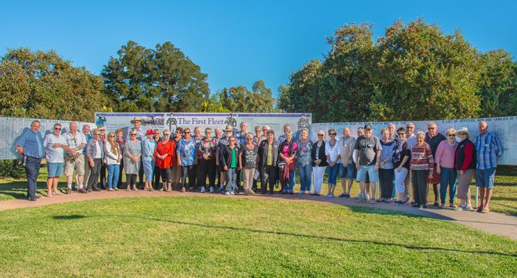 Probus Members at First Fleet Park.