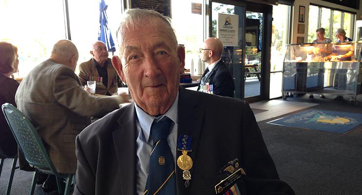 WWII Veteran: Ted Mowbray OAM.