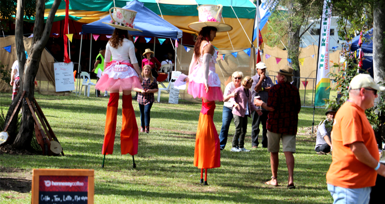 KARUAH FESTIVAL: Bluegrass Circus Acts.
