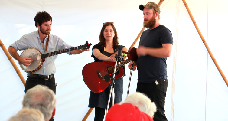 BLUEGRASS MUSIC FESTIVAL: Canadians, All Day Breakfast String Band.