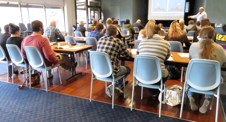 Boating Licence theory course was held at Bulahdelah Bowling Club.