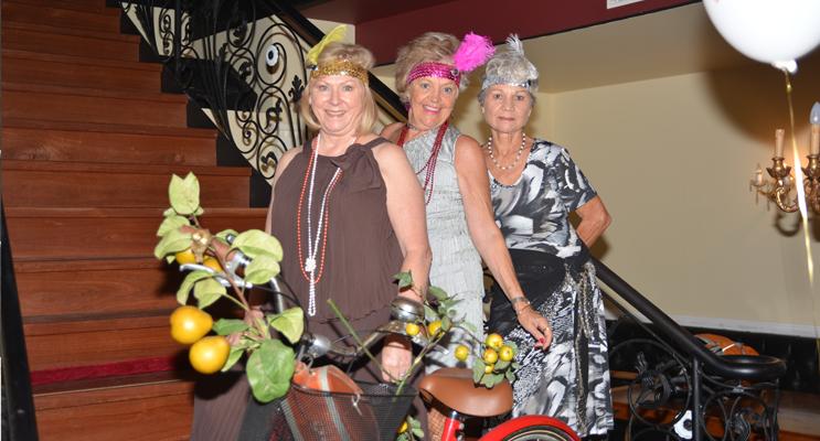 Robyn Geale, Linda Hulme, Elizabeth Chapman. Photo by Darcy Geale