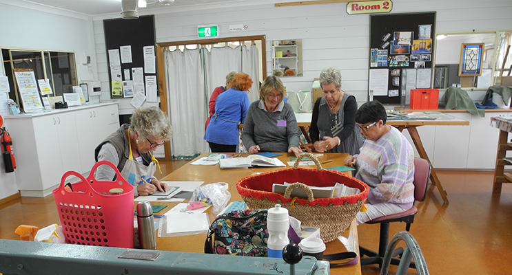 PRINTMAKING WORKSHOP: Myall Art and Craft Centre.