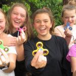 Fidget spinning craze hits Myall Coast