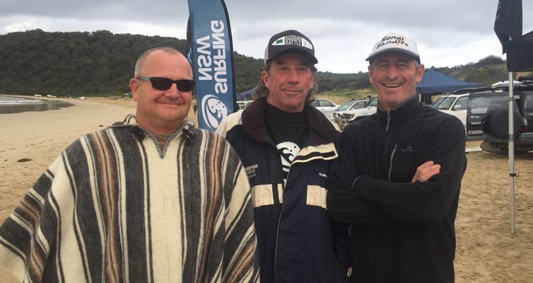 1.Organisers Andrew Grimwood, Peter Woods and Iain McGuire. Photo by Jo Finn