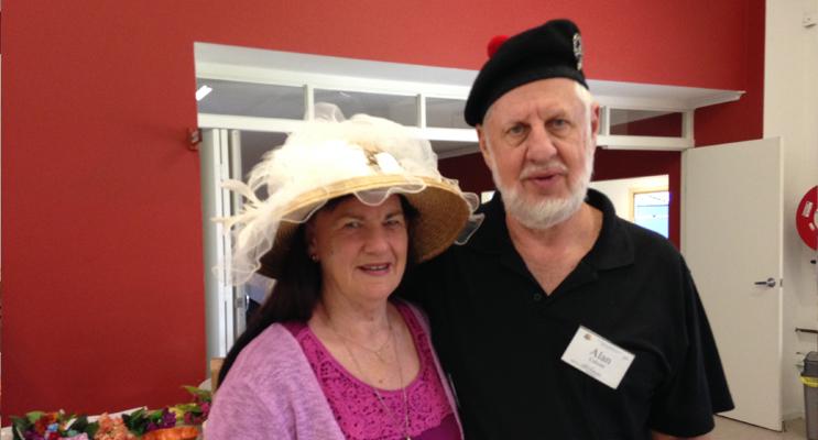 BAPTIST CHURCH MEMBERS: Ruth and  Alan Calcutt.