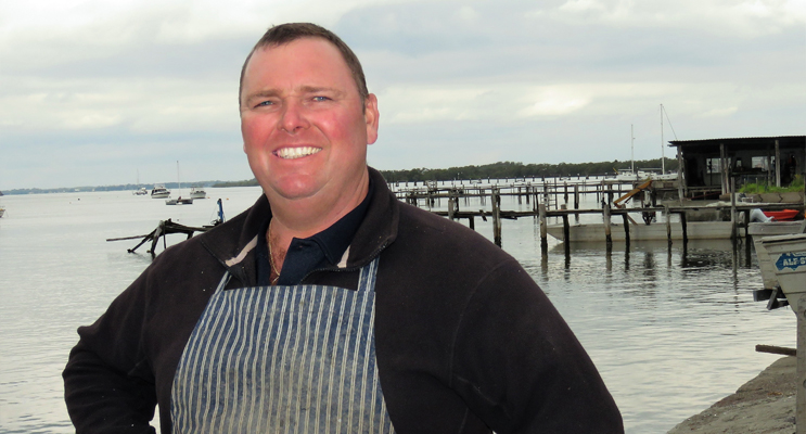 Dean Cole said there is always a big demand for local oysters.