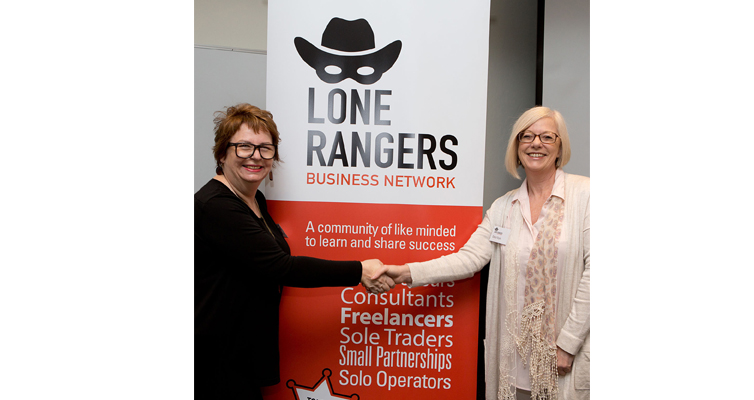 "The Lone Rangers Business Network founders Cheryl Royle and Janelle Gerrard's mantra is: ""If we build it, they will come."" Photo supplied"