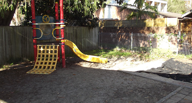 The former play equipment was outdated and non-compliant.